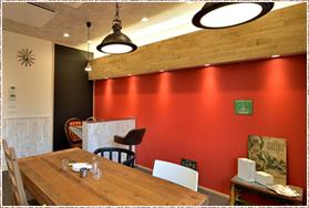 カフェスタイルの応接室